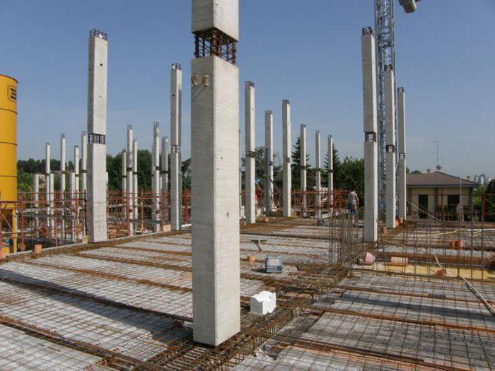 расценки бетонные колонны